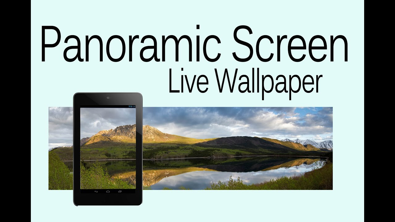 android appaholics panoramic screen live wallpaper