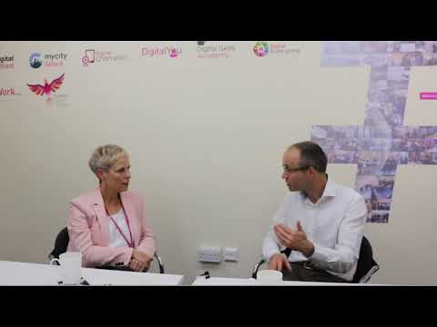 Debbie Brown (SCC) And Adam Micklethwaite (Good Things Foundation) Talk About Digital Inclusion.