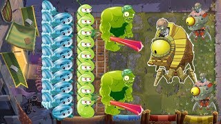 Plants vs Zombies 2 Battlez - Winter Melon, Laser Bean vs Zombot