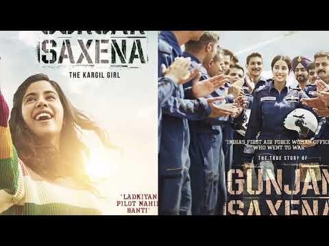 Janhvi Kapoor Shares Posters Of Gunjan Saxena The Kargil Girl Akshay Kumar Box Office Ntv Ent Youtube