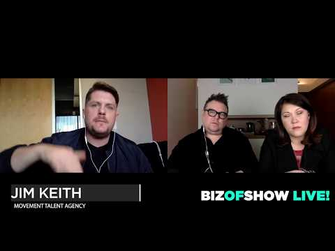 Biz Of Show - LIVE! GUEST: Jim Keith, Hollywood Agent/Owner Movement Talent Agency