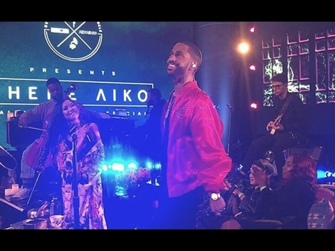 Jhené Aiko And Big Sean Get Passionate On Stage