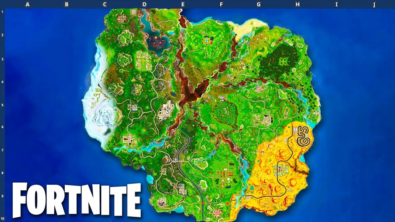 season 8 map leaked fortnite battle royale - fortnite season 8 map images