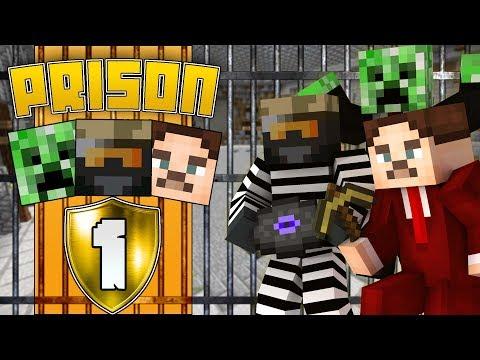 Zagi i Fængsel - FANGET MED FREAK & CRUX?! #1 | Dansk Minecraft