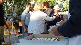 Confiteros de Valladolid reparten 7.000 porciones de tarta