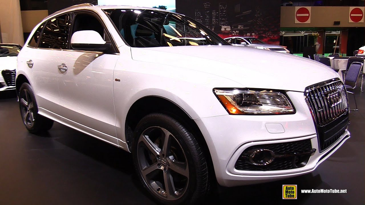 2015 audi q5 tdi quattro s line exterior and interior walkaround