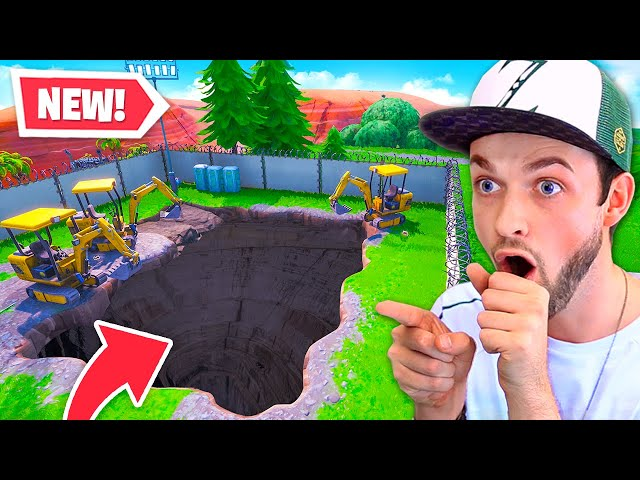 *NEW* SECRET tunnel - Whats INSIDE?
