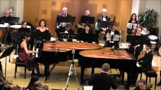 Angeni & Arthur Perform Mozart Double Piano Concerto No. 10 in E Flat major K.365