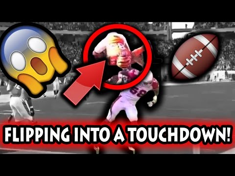 Best Flipping Touchdowns in Football History (NFL)