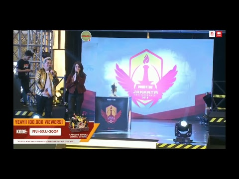 JAKARTA INVITATION MATCH 7 GRAND FINAL FREE FIRE 2018