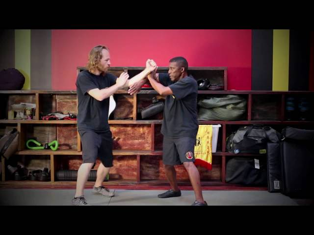 Wing Chun Lop Da grab strike drills