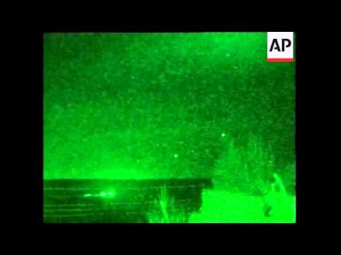 GWT: Nightvision from northern Iraq attack
