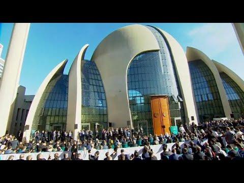 Recep Tayyip Erdogan inaugure une mosquée à Cologne