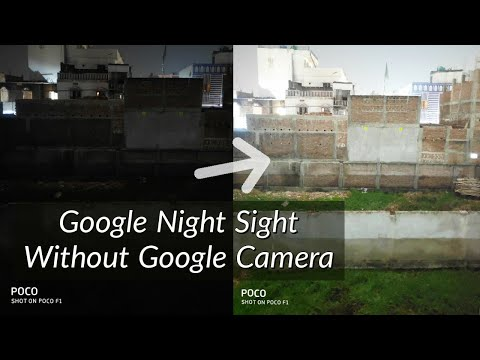Google Night Sight Like Photography on Any Phone that Supports Manual Camera | Hindi – हिंदी