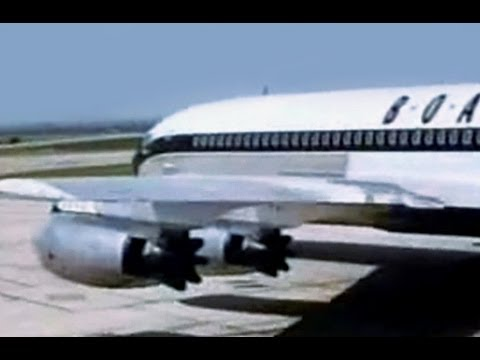 BOAC Vickers VC-10 & Boeing 707-436 Travelogue - 1964