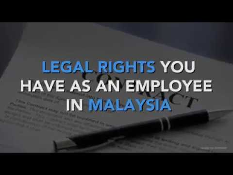 Know your rights as an employee in Malaysia
