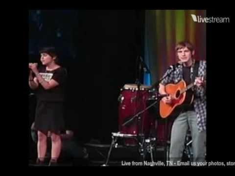 Landon Pigg & Mae Whitman