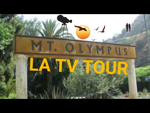 2017 Los Angeles Driving Tour: Mt. Olympus & West Hollywood.