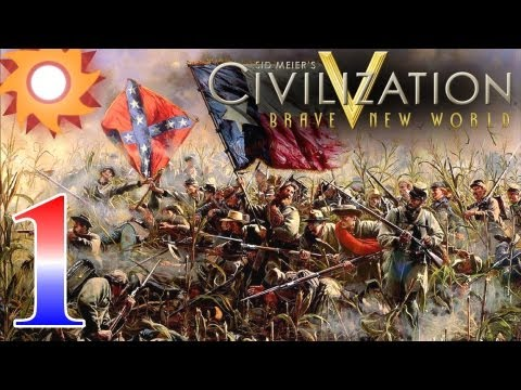 Civilization V Brave New World - Civil War Scenario - Episode 1 ...Controlling Harper's Ferry...