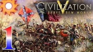 Civilization V Brave New World - Civil War Scenario - Episode 1 ...Controlling Harper