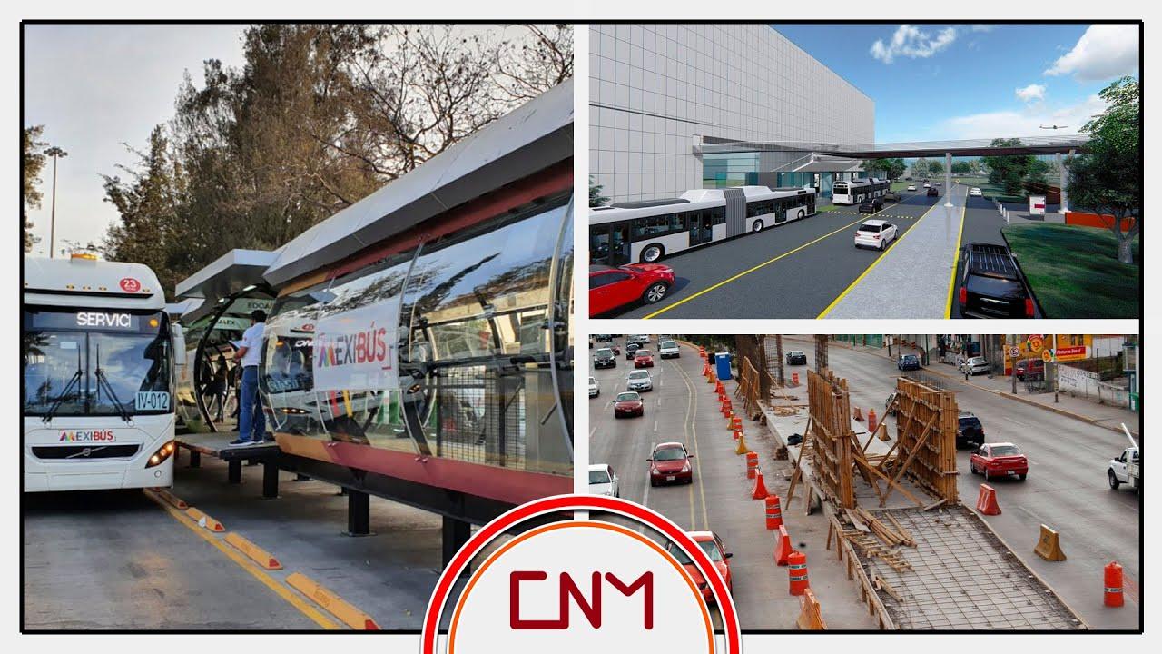Download Avanza conexión del AIFA con la Línea 1 del Mexibús. Estará listo en febrero del 2022.