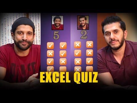 EXCEL Quiz: Farhan Akhtar and Ritesh Sidhwani Battle it out!