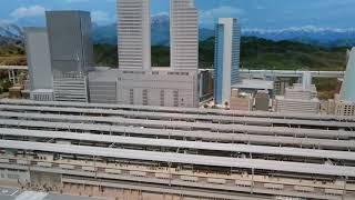 リニア鉄道館 鉄道模型 ジオラマ