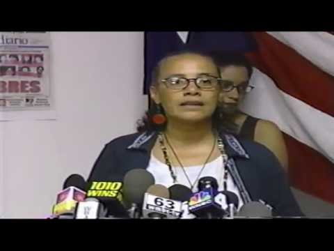 Press Conference on the Puerto Rican Political Prisioners video by Jose Rivera 9:8:99