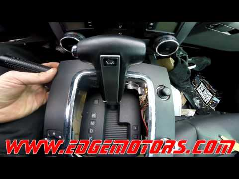 VW Touareg Shifter Interlock Release by Edge Motors