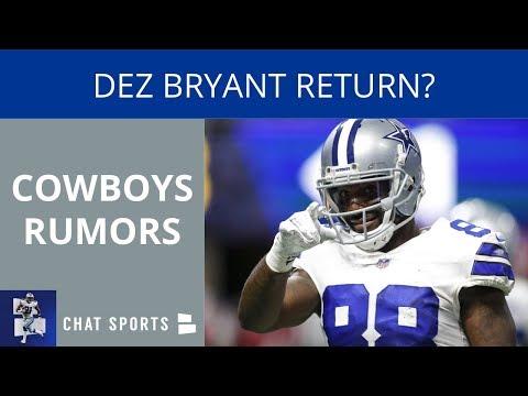 Cowboys Rumors: Dez Bryant Return,...