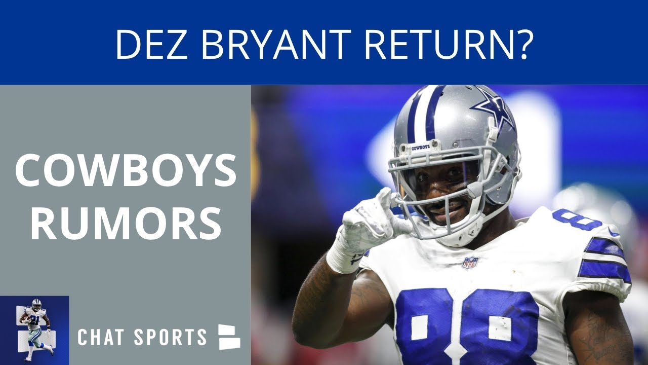 Cowboys Rumors Dez Bryant Return Terrance Williams Suspension And Signing Landry Jones