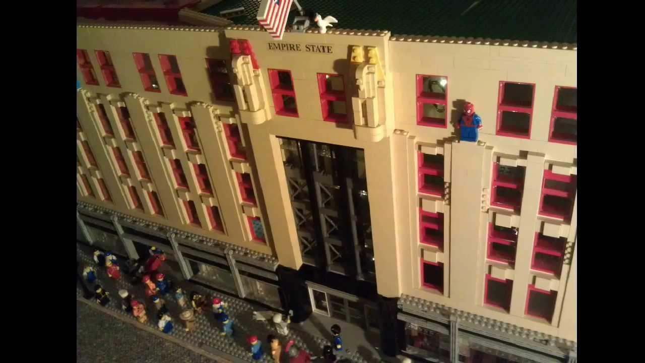 Lego Moc Empire State Building Slideshow Jan 2014 Youtube