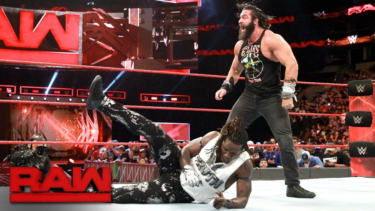 Elias brutalizes R-Truth: Raw, Aug. 14, 2017