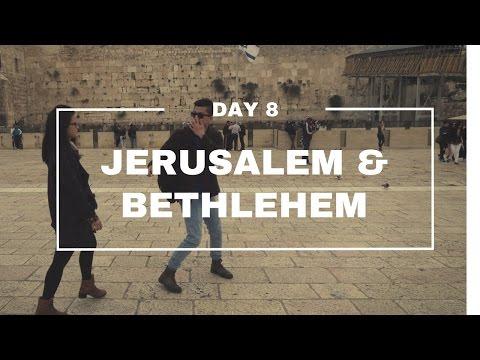 Holyland Trip Vlog - Day 8 - JERUSALEM, BETHLEHEM (EP 08)