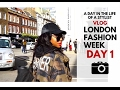 A Day In The Life Of A Stylist: London Fashion Week Day 1 Vlog!