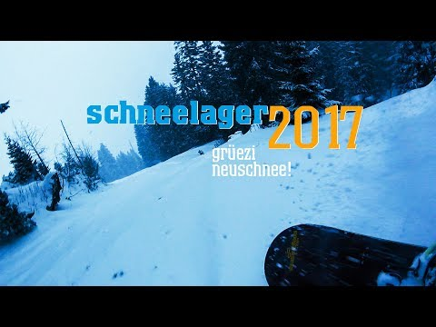 Schneelager Januar 2017 ** Teil 5 ** Grüezi Neuschnee / Skifreizeit VLOG