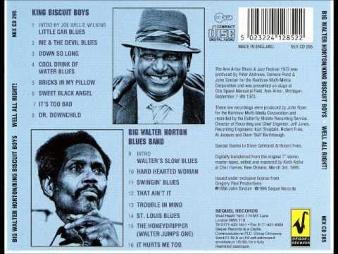 Big Walter Horton Blues Band - Hard Hearted Woman