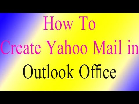 how to setup yahoo mail account in outlook   Microsoft Outlook 2010 Basic Training