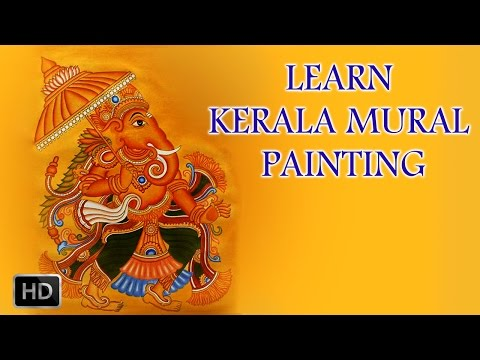Learn Kerala Mural Painting - How To Draw Mural Paintings