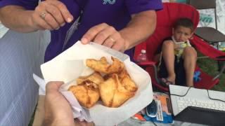 Dan Vs Food!  Deep-fried Chicken Wing Dip At Erie County Fair!