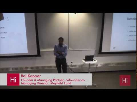 Harvard i-lab | Founding a Tech Startup in Silicon Valley -- The Good, Bad, and Ugly with Raj Kapoor