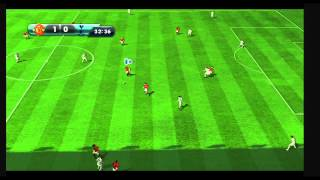 FIFA 13 Wii gameplay - Manchester United vs Spurs