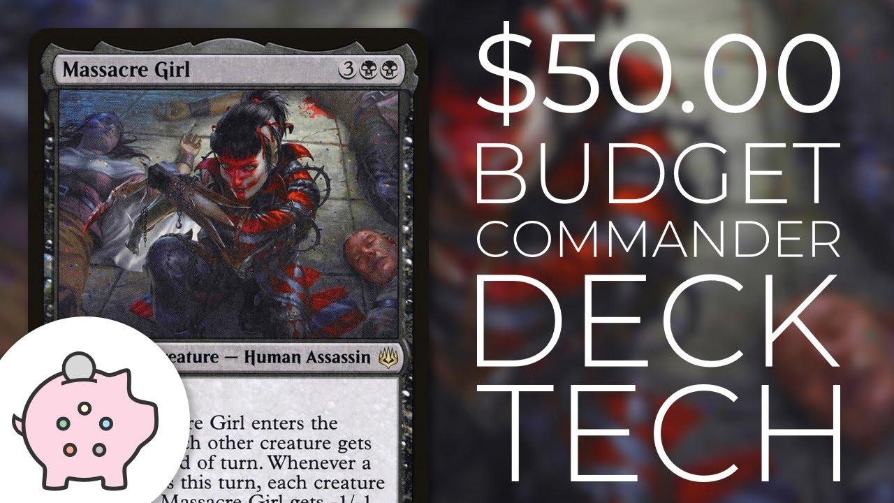 $50 Budget Commander Deck Tech: Massacre Girl by The Commanders