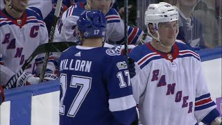Lightning and Rangers' water bottle fiasco results in fines for different plays, same reason
