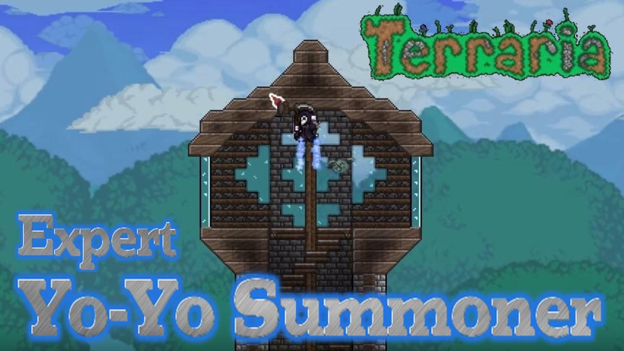 13 Terraria 1 3 Expert Yo Yo Summoner Garden Hilltop