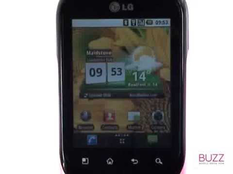 Bluetooth visibility | LG Optimus Chat | The Human Manual