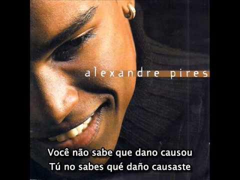 Alexandre Pires - Você me robou a minha vida - Con subtítulos en Portugués y en Español Latino