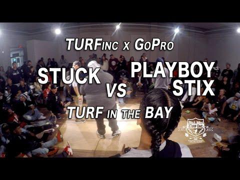 TURFinc X GoPro - TURF IN THE BAY | Stuck vs Playboy Stix | Dance Battle