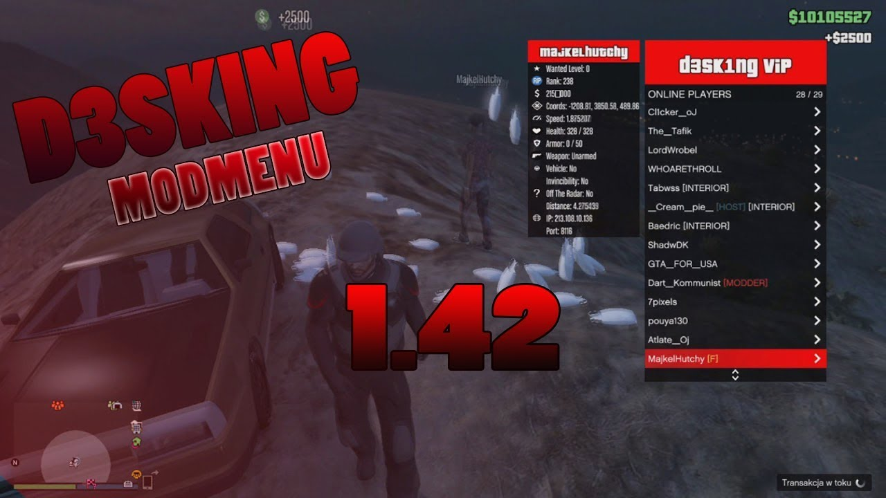 Absolute Mod Menu Free Gta 5 Pc 2018 1 42  GTA V PC Online 1 43