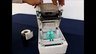 Instalación de los consumibles en la impresora Toshiba B-EV4T